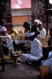 Besakih temple, worshippers #1