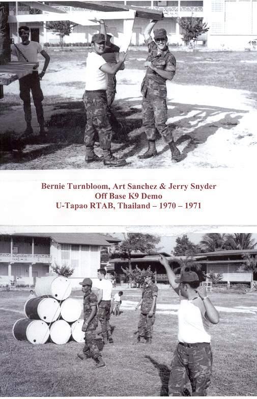 Off Base K-9 Demo (Bernie Turnbloom, Art Sanchez & Jerry Snyder)