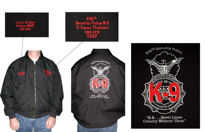 635th K9 Jacket