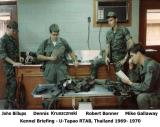 Briefing at Kennel - 1969