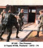 John P Hill  The Fireman  73-74