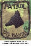 Patrol Dog Patch  71/72