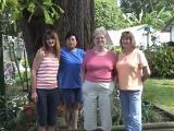 Becky Cockroft, Janice Cummings, Pat Broeker, & Francis Bold