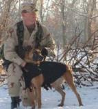 SSgt. Timothy L. Miller & MWD Marco