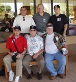 Korat, Standing L to R Fabian Liendo, Dave Adams, John Homa