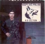 Dennis Snellen at the Barracks  Udorn 1972