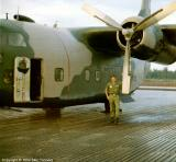C-123 Candle flairship