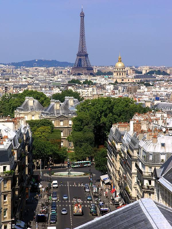 The old iron lady - Paris