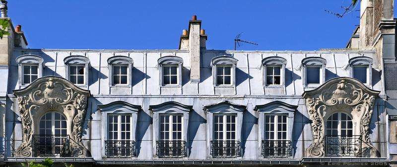 Mansardes Parisiennes.