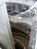 Modern underground stairs - Paris