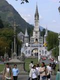 Lourdes and pilgrims 1