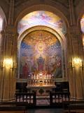 Lourdes, inside the Basilic.