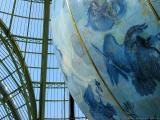 Giant 18th century globe