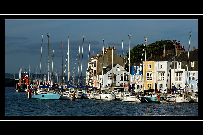 More of the harbour, Weymouth, Dorset