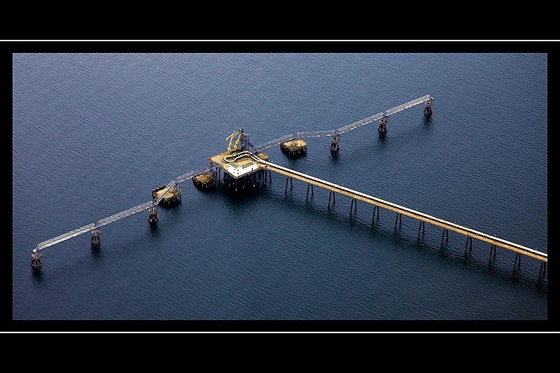 Oil pipeline, near Belfast, N. Ireland