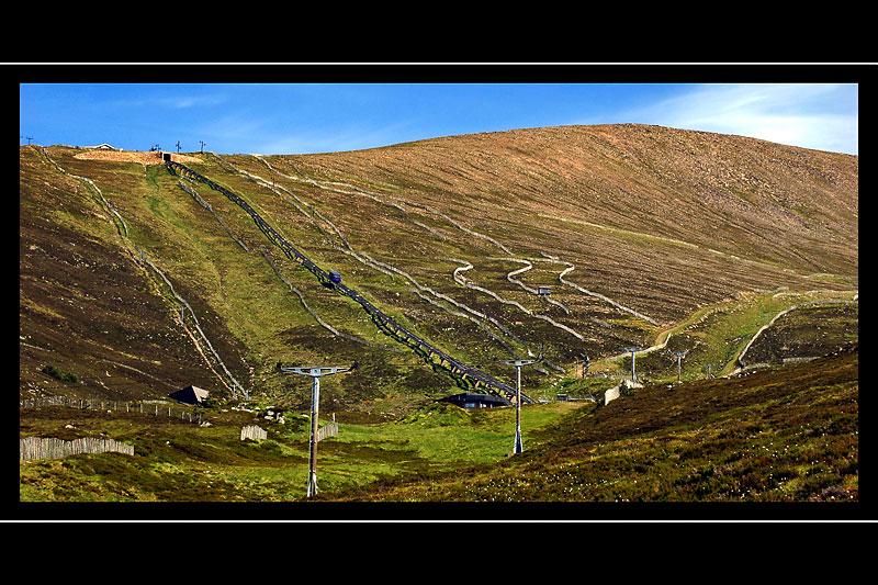 Funicular railway, Cairngorms (1742)