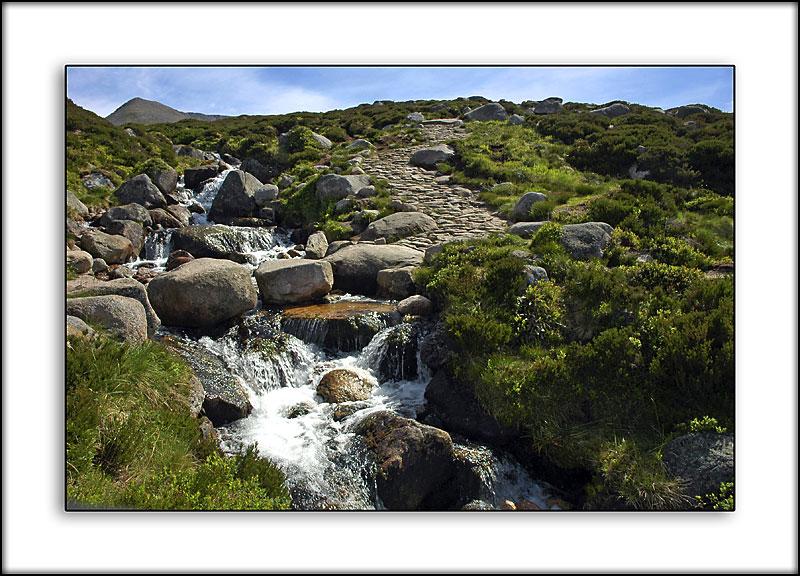 Mountain stream, Cairngorms, Scotland