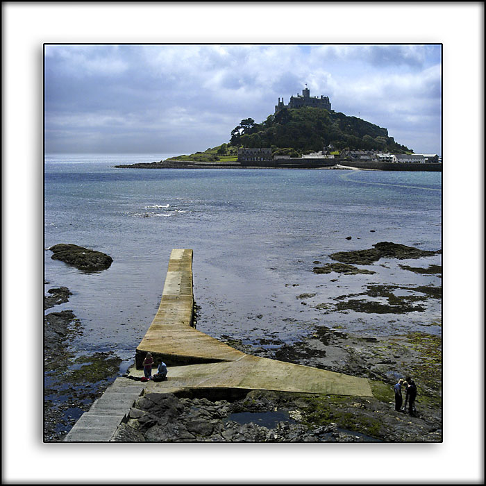 St. Michaels Mount and jetty, Cornwall