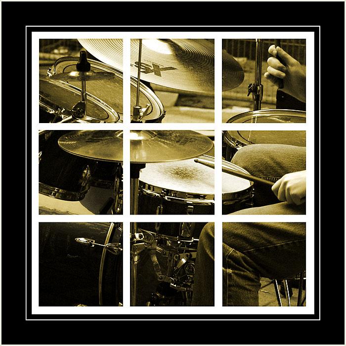 Drummer, city centre, Belfast