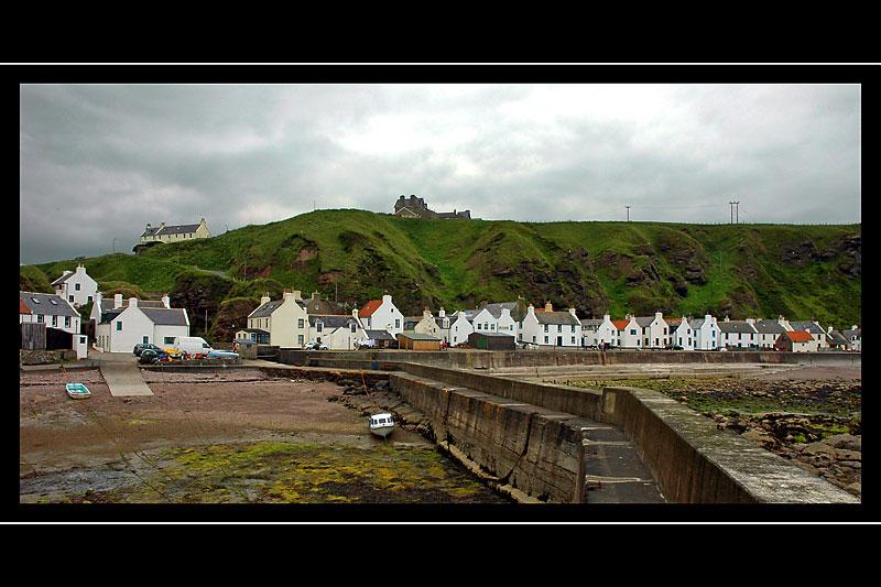 Pennan from the pier, Aberdeenshire, Scotland