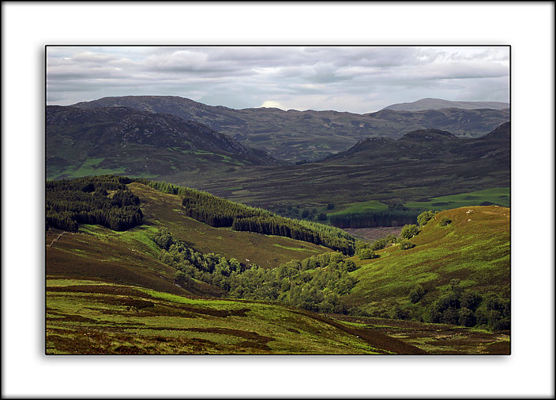 Off the back road from Loch Ness, Invernesshire, Scotland