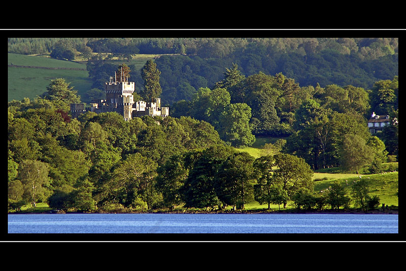 Wray Castle from Ambleside, Cumbria