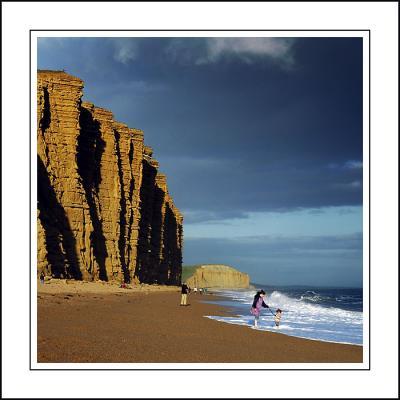 Paddlin, West Bay, south-west Dorset
