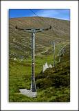 Ski-lift, Cairngorms, Scotland