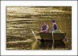 Salmon seekers, Ballindalloch, Banffshire, Scotland