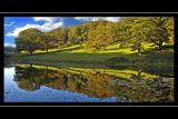 Autumnal reflections, Stourhead, Wiltshire