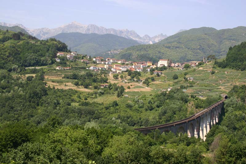 Poggio train viaduct