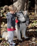 Cole and his friend Kiska
