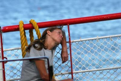 Despair on Boat (Ernesto Rocco)