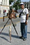A photographer with his camera  (Sharif El-Hamalawi)