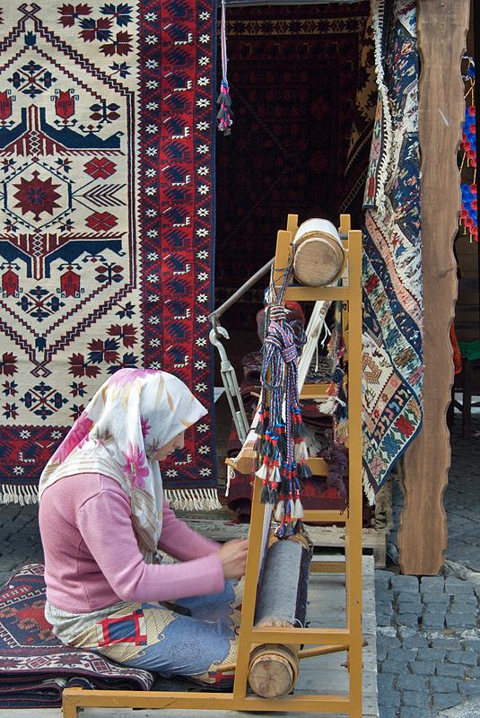Carpet weaver