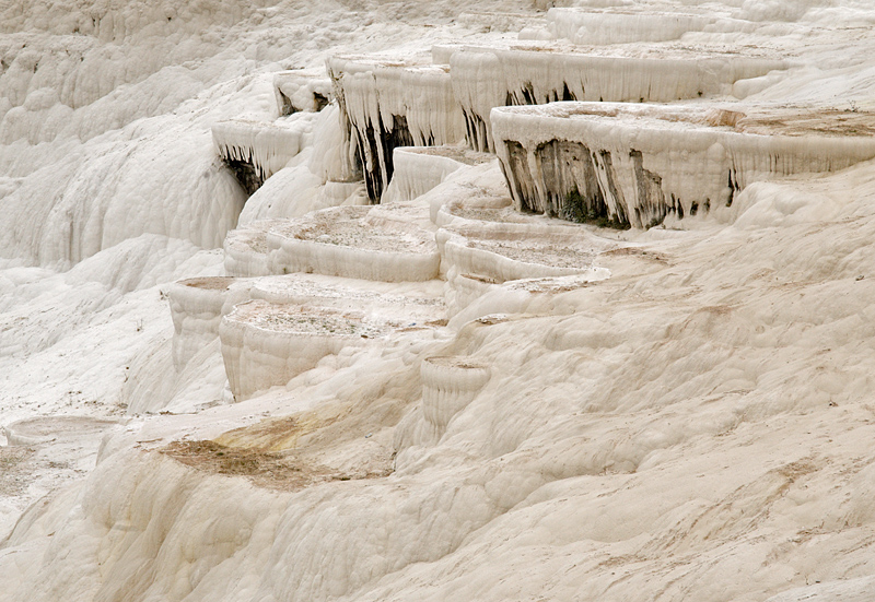 Pamukkale, travertine pools