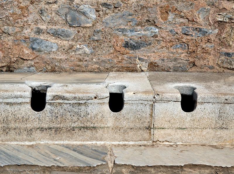 Ephesus, mens toilets