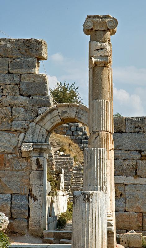 Ephesus, small theater