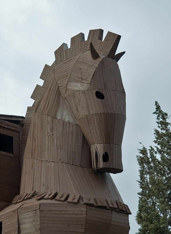 Troy, The Giant Trojan Horse