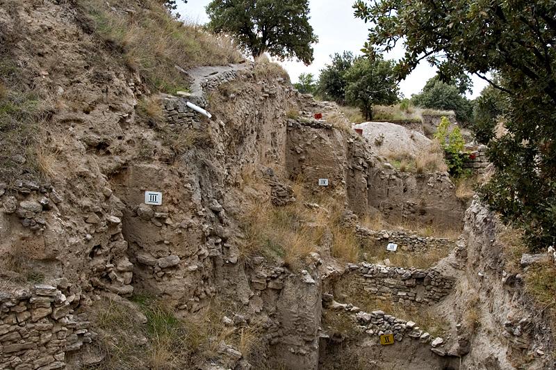 Troy, layers of civilizations (I-IX)