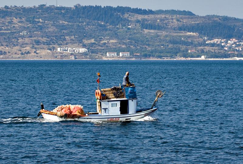Çanakkale, working the Dardanelles