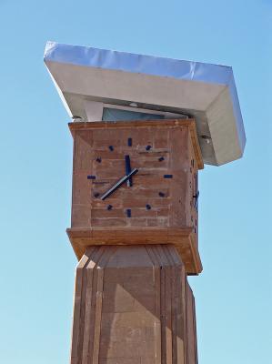 Fairy chimney clock