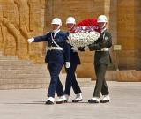 Honor guard at Anitkabir
