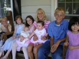 They're growing.  Eight grandkids