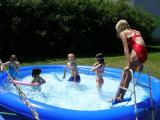 Rori, Alyssa, Luke ready for battle, Savanna & Lifeguard Julie