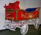 Royal Italian Circus Band Carriage.  (19th Cent.)