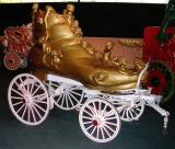PT Barnum Circus Old Woman in the Shoe Pony Float. 1882