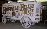 Buffalo Bill's Wild West ticket wagon.  1890