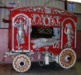 Walter L. Main Circus Band Organ Wagon. ca. 1900