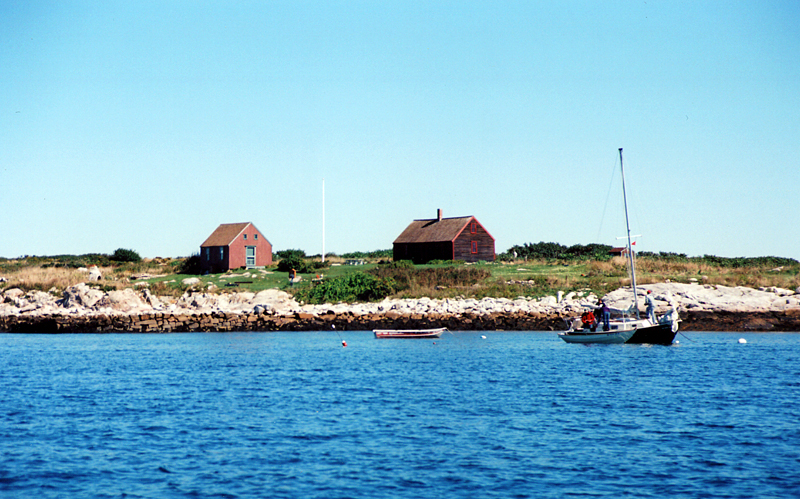 Cottages on The Isle of Shoals